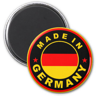 made in germany country flag label round stamp 6 cm round magnet