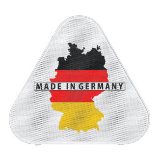 made in germany country map flag product label