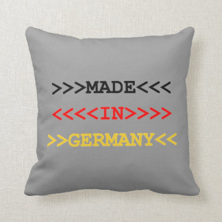 made in germany cushion