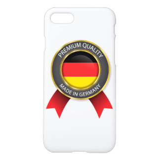 Made in Germany Flag, German Colors, Seal iPhone 8/7 Case