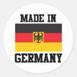Made In Germany Round Sticker