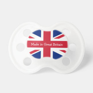 Made in Great Britain-Union Jack Flag Baby Pacifier