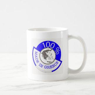 Made In Greece 100% Coffee Mug