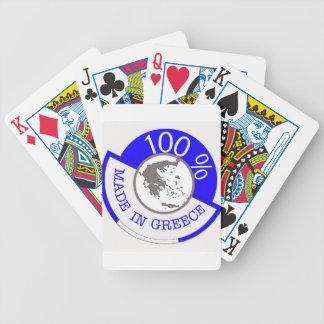 Made In Greece 100% Poker Deck