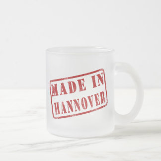 Made in Hannover Frosted Glass Mug