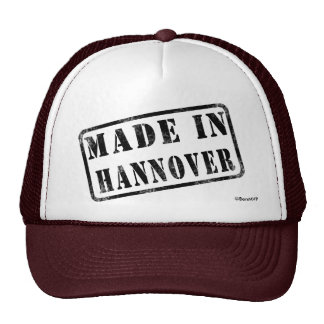 Made in Hannover Mesh Hats