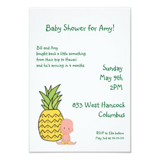 Made in Hawaii Baby Shower Card