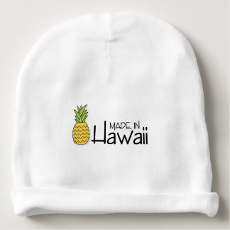 Made in Hawaii With Pineapple Baby Beanie