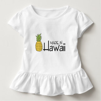 Made in Hawaii With Pineapple Toddler T-Shirt