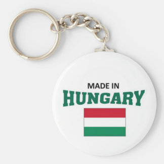 Made in Hungary Key Ring