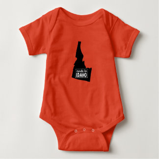 Made in Idaho Personalized Onsie Baby Bodysuit