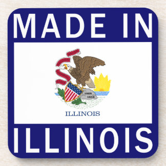 Made In Illinois Beverage Coasters