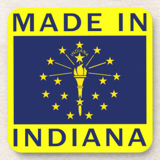 Made In Indiana Coaster