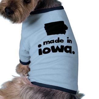 Made in Iowa Doggie Shirt