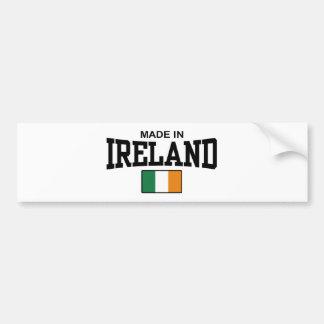 Made In Ireland Car Bumper Sticker