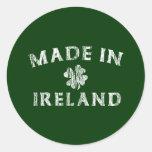 Made in Ireland Classic Round Sticker