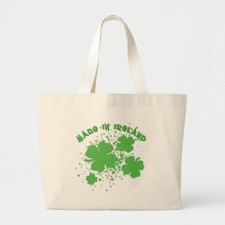Made In Ireland with Shamrocks Products Bag
