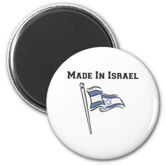 Made In Israel 6 Cm Round Magnet