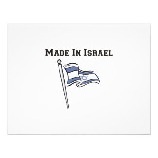 Made In Israel Announcement