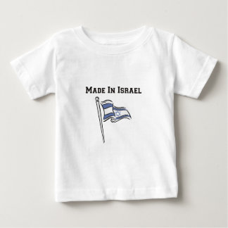 Made In Israel Baby T-Shirt
