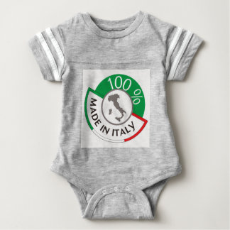 MADE IN ITALY 100% BABY BODYSUIT
