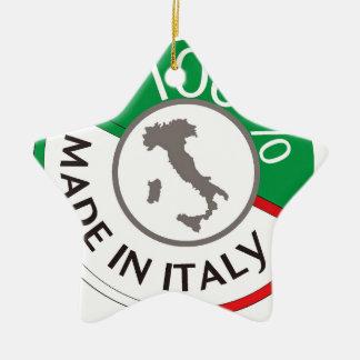 MADE IN ITALY 100% CERAMIC STAR DECORATION