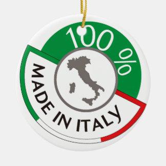 MADE IN ITALY 100% ROUND CERAMIC DECORATION