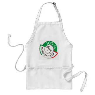 MADE IN ITALY 100% STANDARD APRON