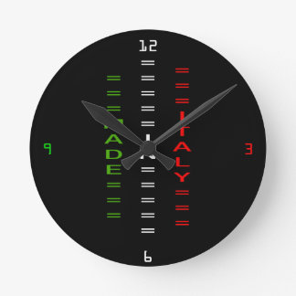made in italy round clock