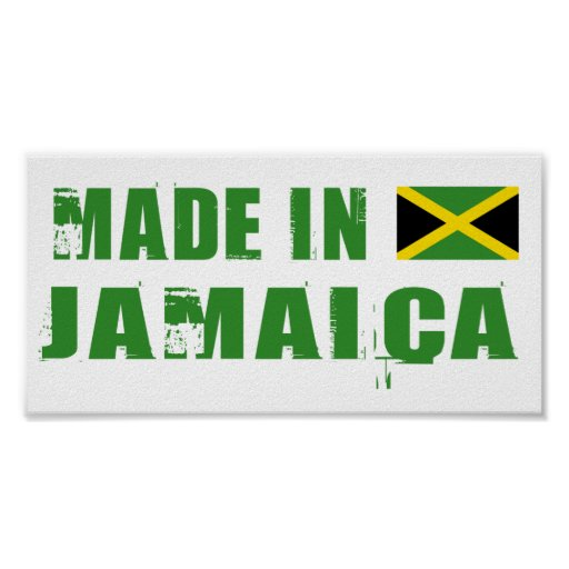 Made in Jamaica Poster