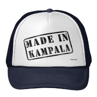 Made in Kampala Mesh Hats