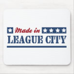 Made in League City Mousepad