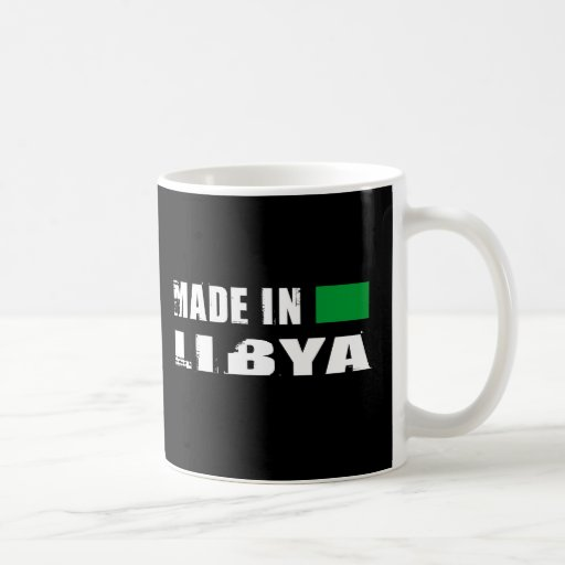 Made in Libya Coffee Mugs