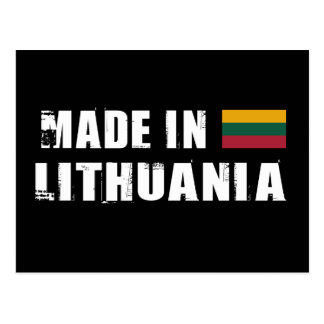 Made in Lithuania Postcard