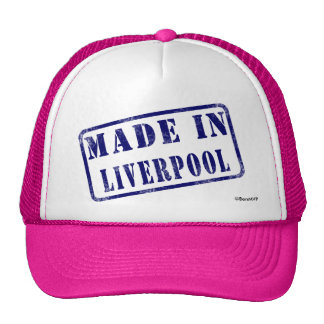 Made in Liverpool Cap
