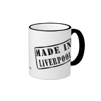 Made in Liverpool Ringer Mug