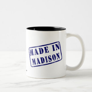 Made in Madison Two-Tone Mug