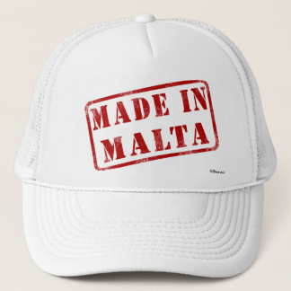 Made in Malta Trucker Hat