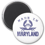 Made In Maryland 6 Cm Round Magnet