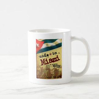 Made in Miami with Cuban Parts Coffee Mug