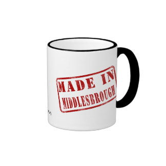 Made in Middlesbrough Coffee Mug