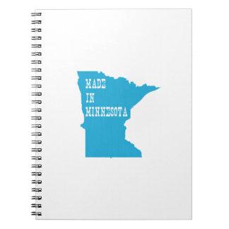 Made In Minnesota Spiral Notebook