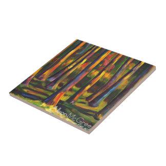Made in Montana artwork on art tiles