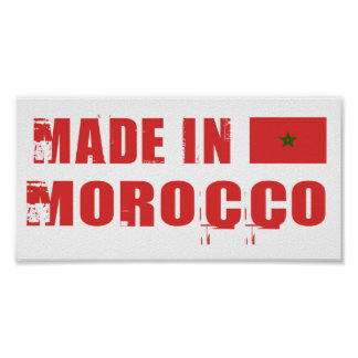 Made in Morocco Poster