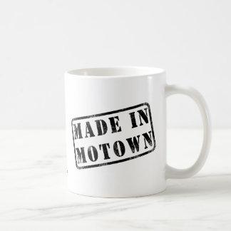Made in Motown Basic White Mug