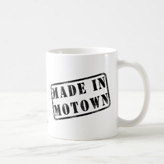 Made in Motown Coffee Mug
