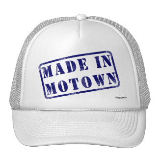 Made in Motown Mesh Hats