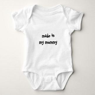 made in my mummy | funny slogan tee shirts