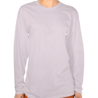 Made in Nebraska Grunge Ladies Pink T-shirt