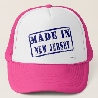 Made in New Jersey Trucker Hat